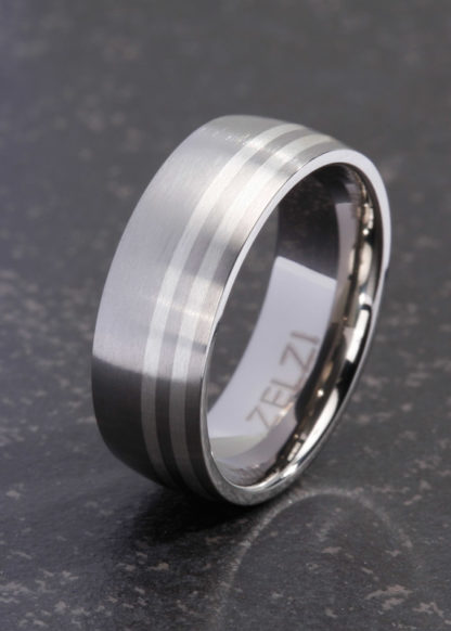 Agethon 8mm brede ring