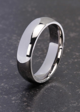 Elaine titanium ring