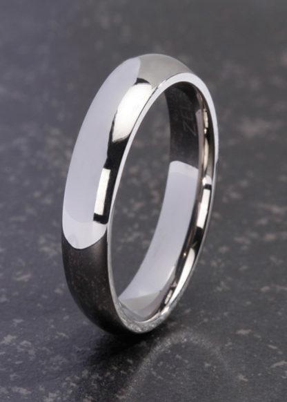 Erianthe smalle titanium ring